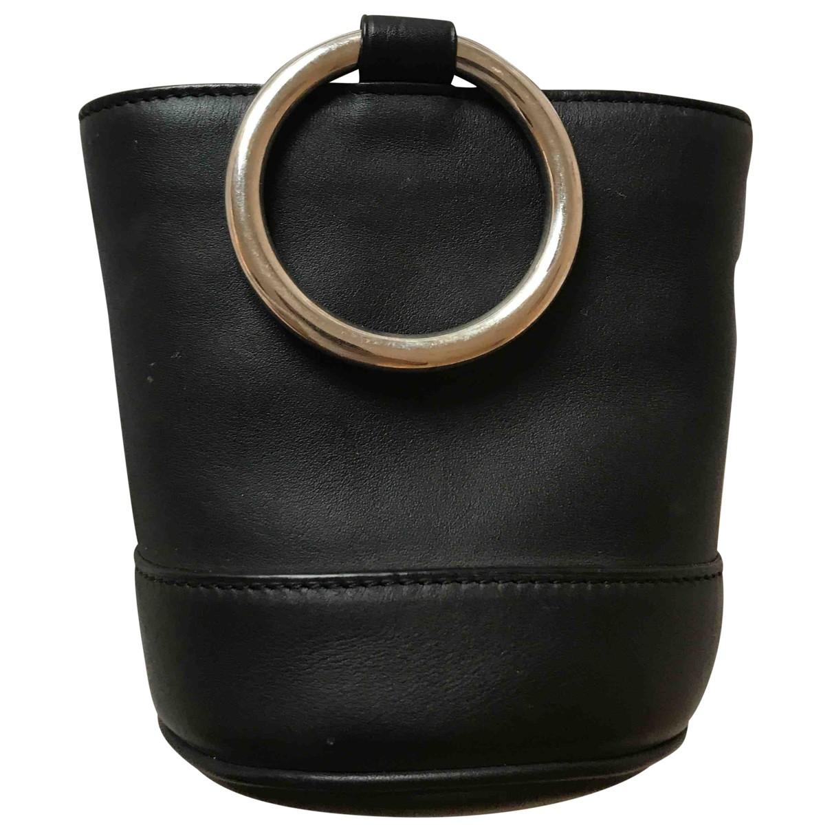 Simon Miller Small Bonsai Black Leather handbag for Women \N