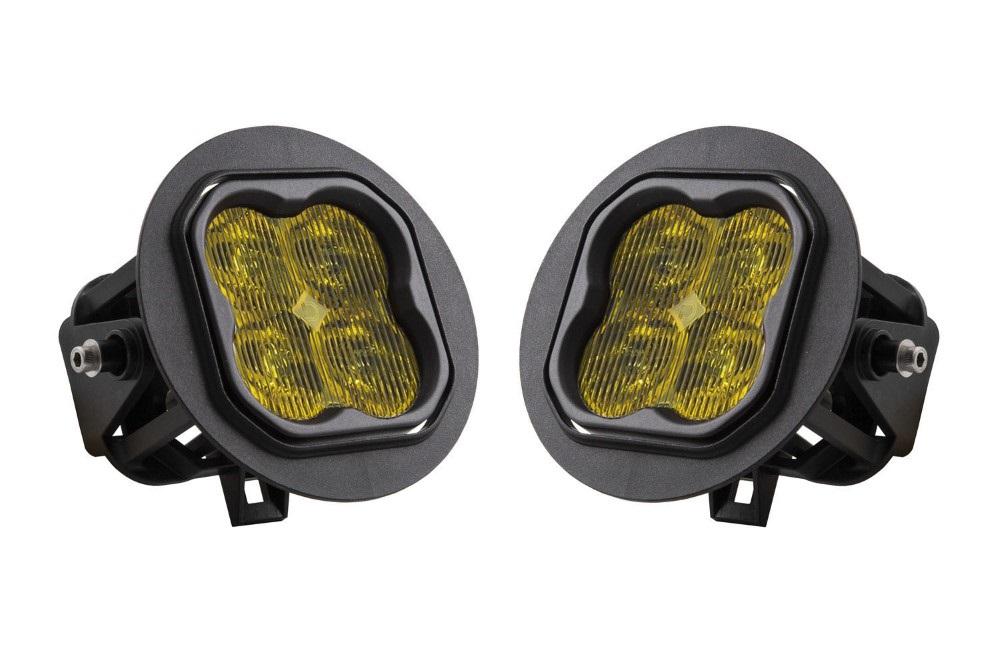Diode Dynamics DD6236-ss3fog-3524 SS3 LED Fog Light Kit for 2005-2011 Toyota Tacoma Yellow SAE/DOT Fog Pro