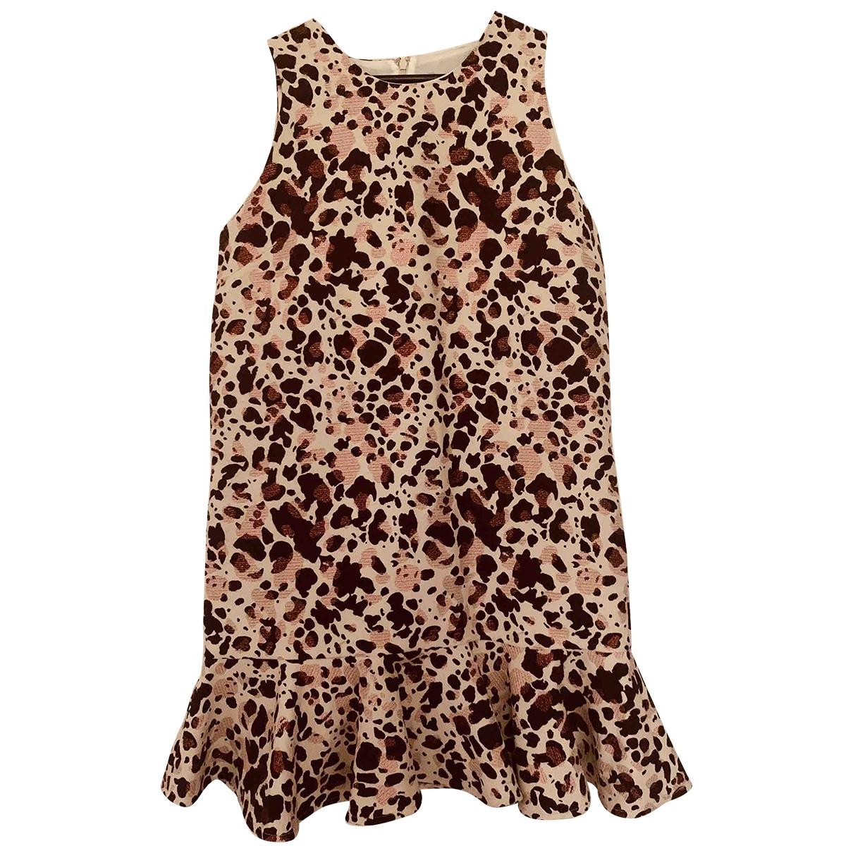 Essentiel Antwerp - Robe   pour femme en coton - beige