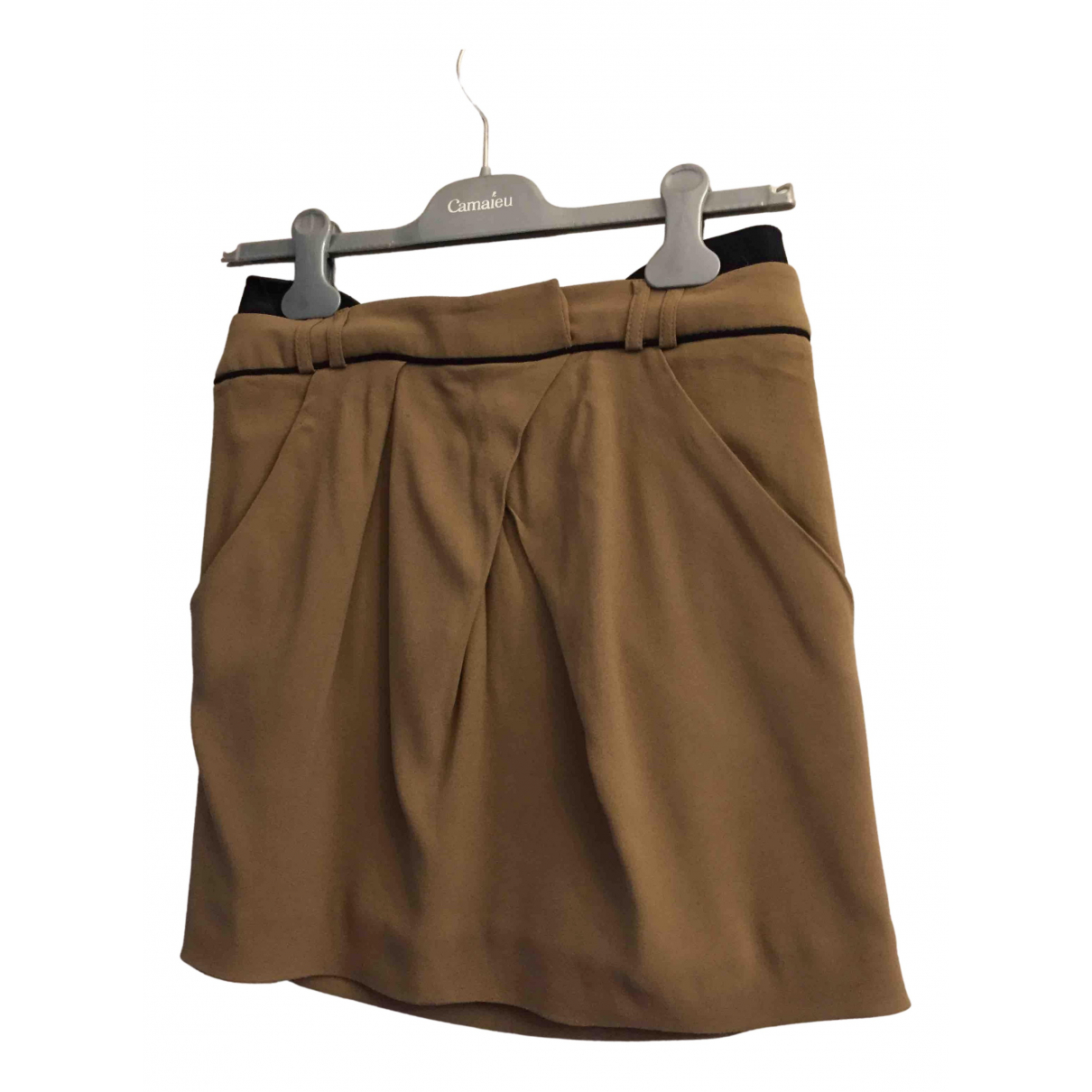 The Kooples N Brown skirt for Women 38 FR