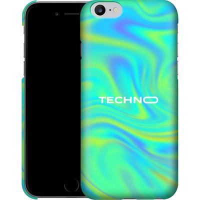 Apple iPhone 6 Plus Smartphone Huelle - PSYCHEDELIC GREEN von Berlin Techno Collective