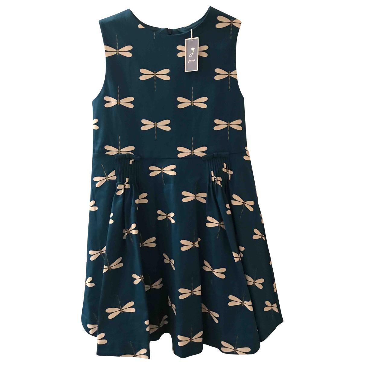 Jacadi \N Kleid in  Tuerkis Baumwolle