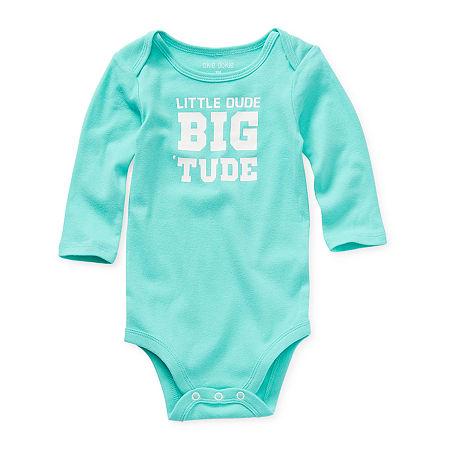 Okie Dokie Baby Boys Bodysuit, 9 Months , Blue
