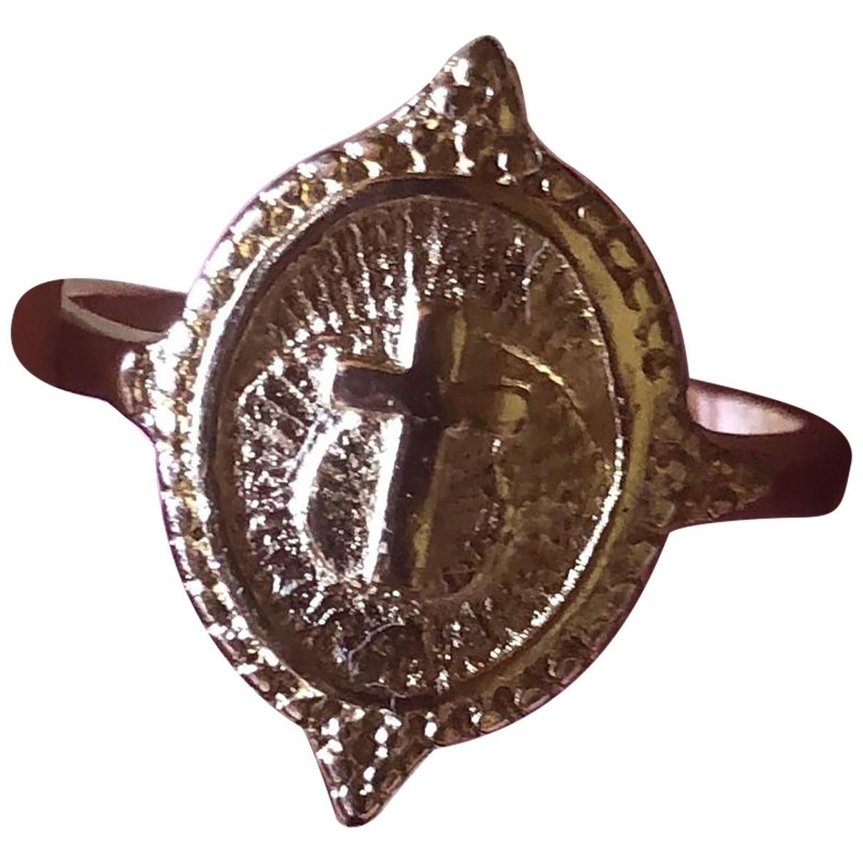 - Bague Croix pour femme en metal - rose