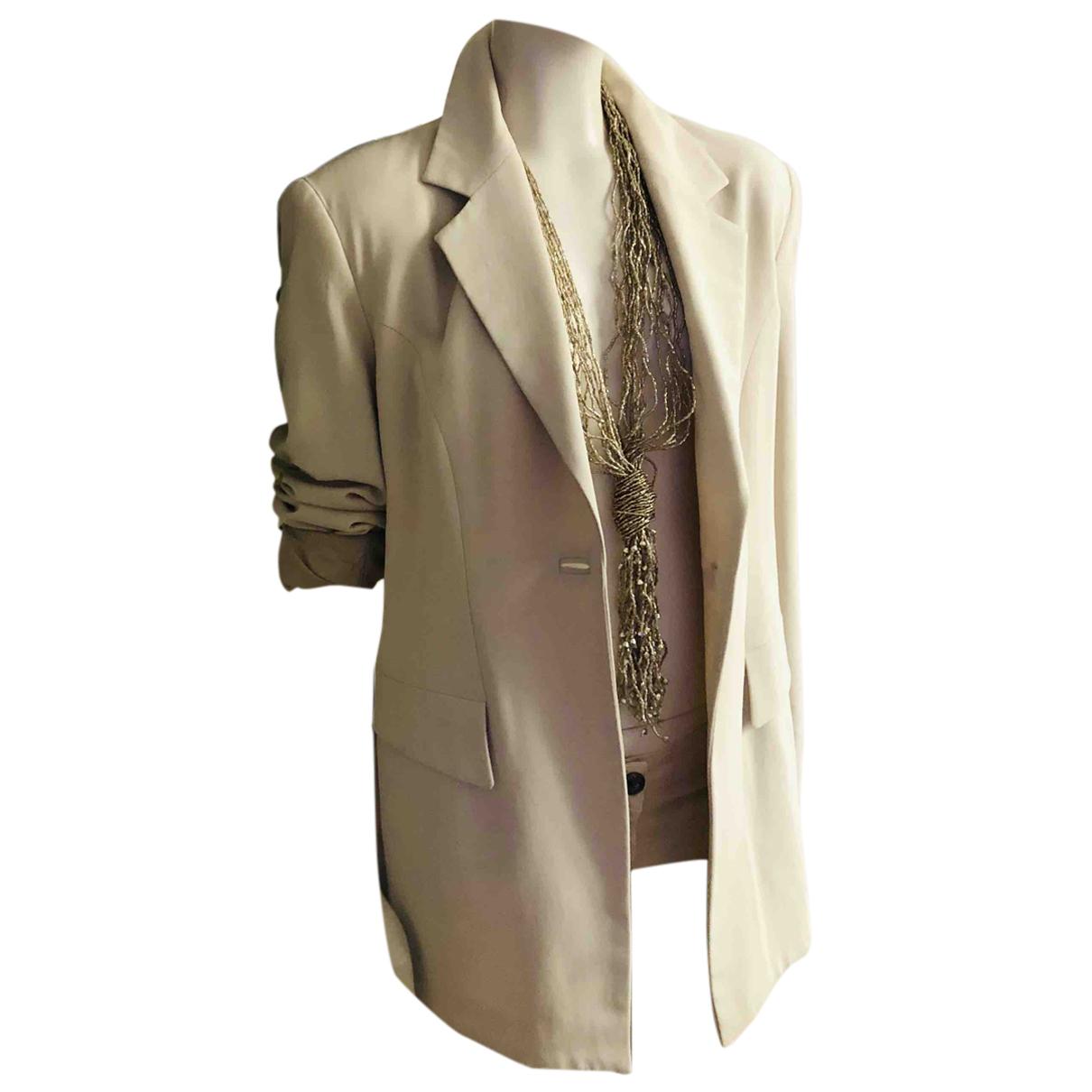 Autre Marque - Veste   pour femme en laine - beige