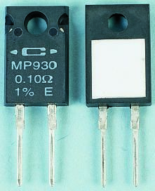 Caddock 75Ω Power Film Resistor 30W ±1% MP930-75.0-1%