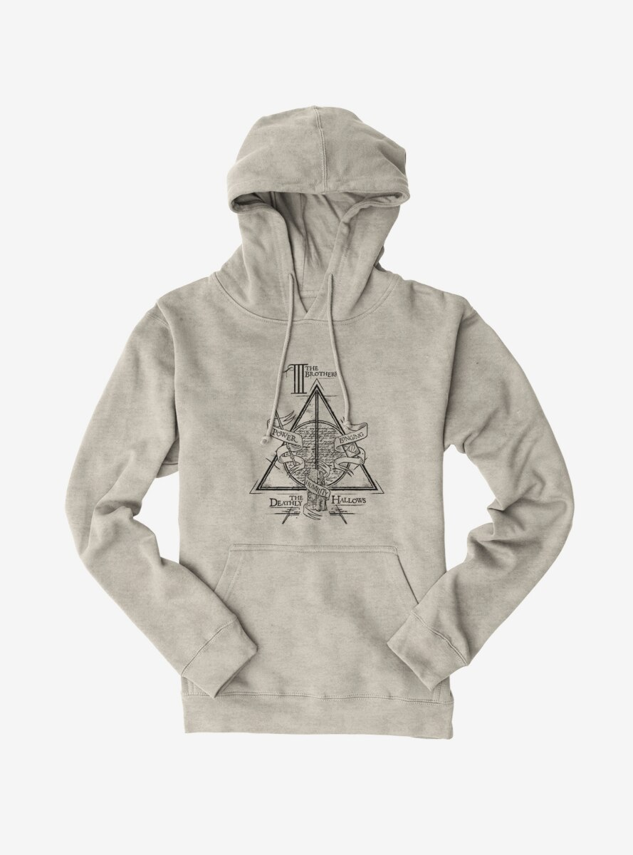 Harry Potter Deathly Hallows Three Brothers Hoodie