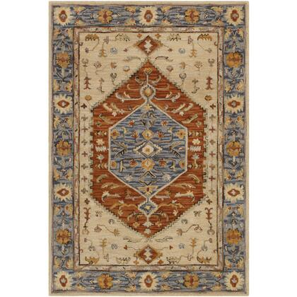 Artemis AES-2303 6' x 9' Rectangle Traditional Rug in