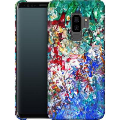 Samsung Galaxy S9 Plus Smartphone Huelle - Macro 10 von Gela Behrmann