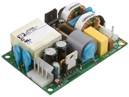 XP Power , 25W AC-DC Converter, 24V dc, Open Frame, Medical Approved
