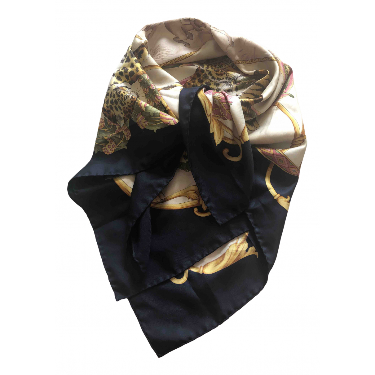 Salvatore Ferragamo \N Multicolour Silk scarf for Women \N