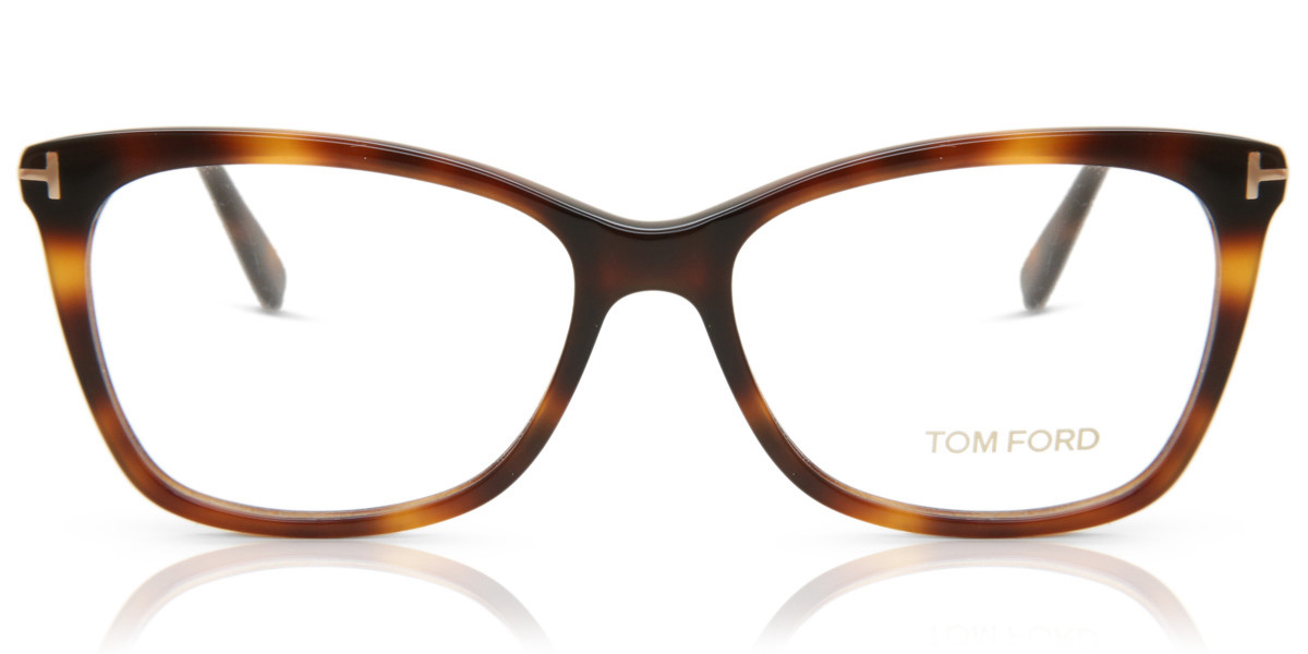 Tom Ford FT5514 055 Women's Glasses Tortoise Size 54 - Free Lenses - HSA/FSA Insurance - Blue Light Block Available