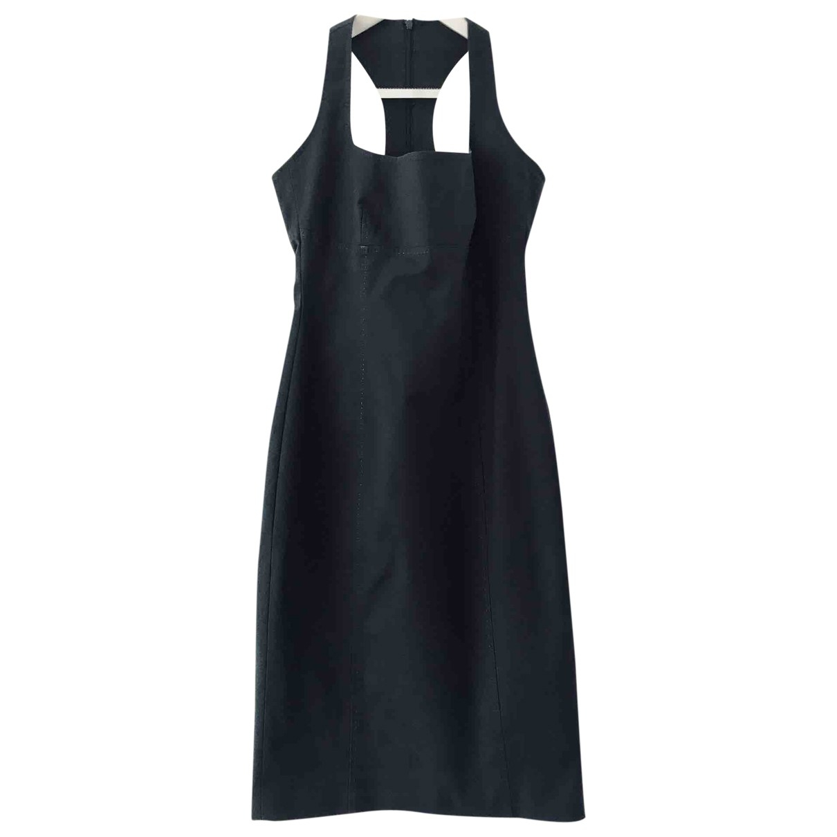 Dsquared2 \N Navy Cotton - elasthane dress for Women 44 IT