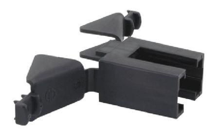 Souriau SMS strain relief hood, 2P, black (5)