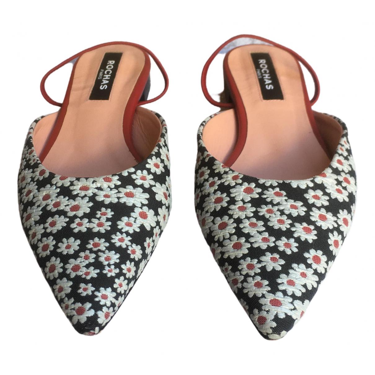 Sandalias de Cuero Rochas