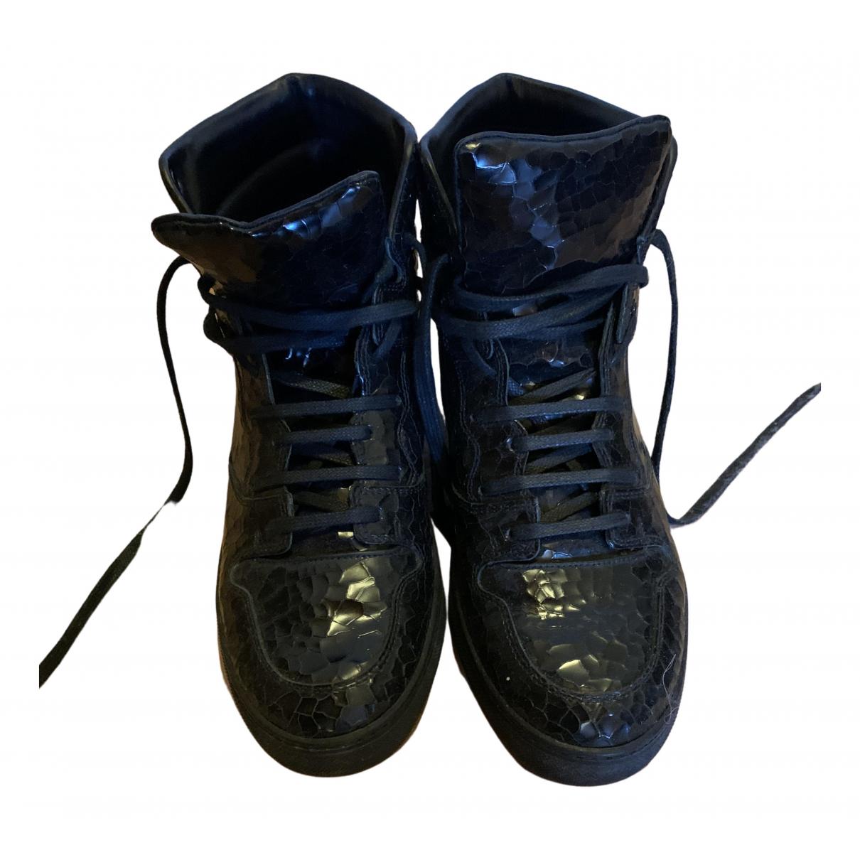Balenciaga - Baskets   pour femme en cuir - noir