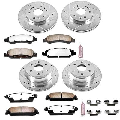 Power Stop Z36 Severe-Duty Truck & Tow 1-Click Front and Rear Brake Kit - K2070-36