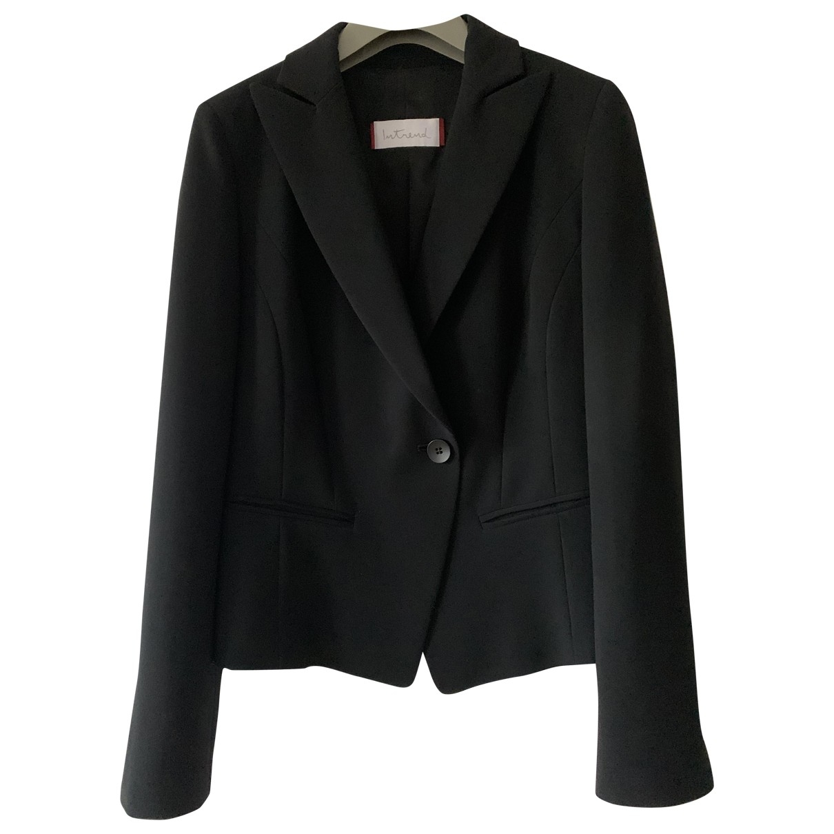 Non Signé / Unsigned \N Black jacket for Women 40 IT