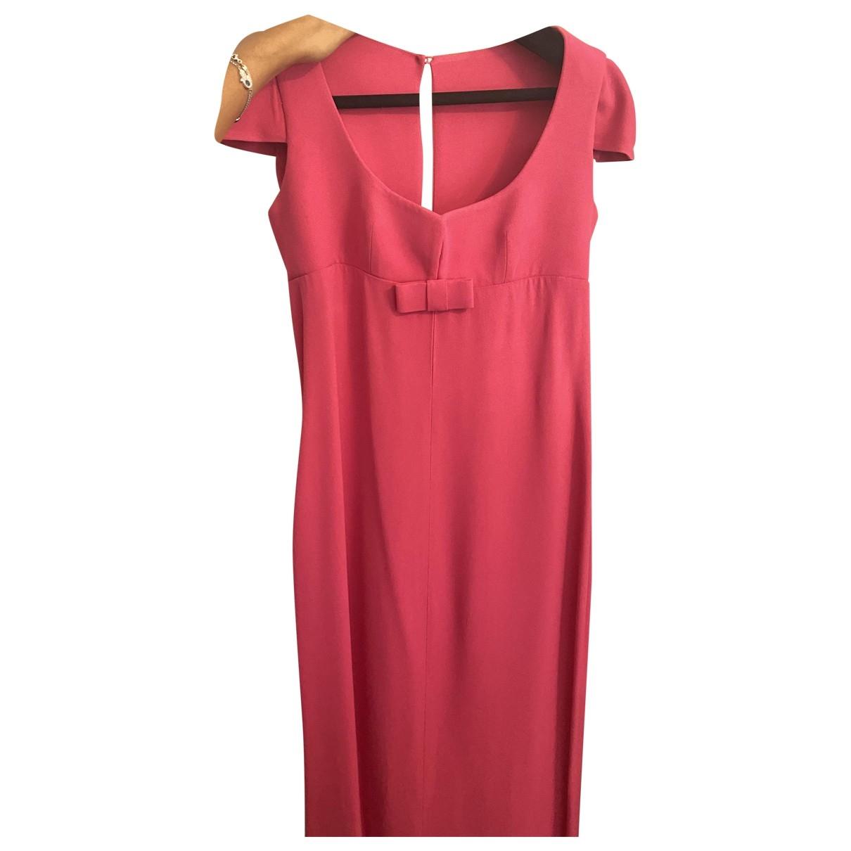 Dior \N Pink Silk dress for Women 38 FR