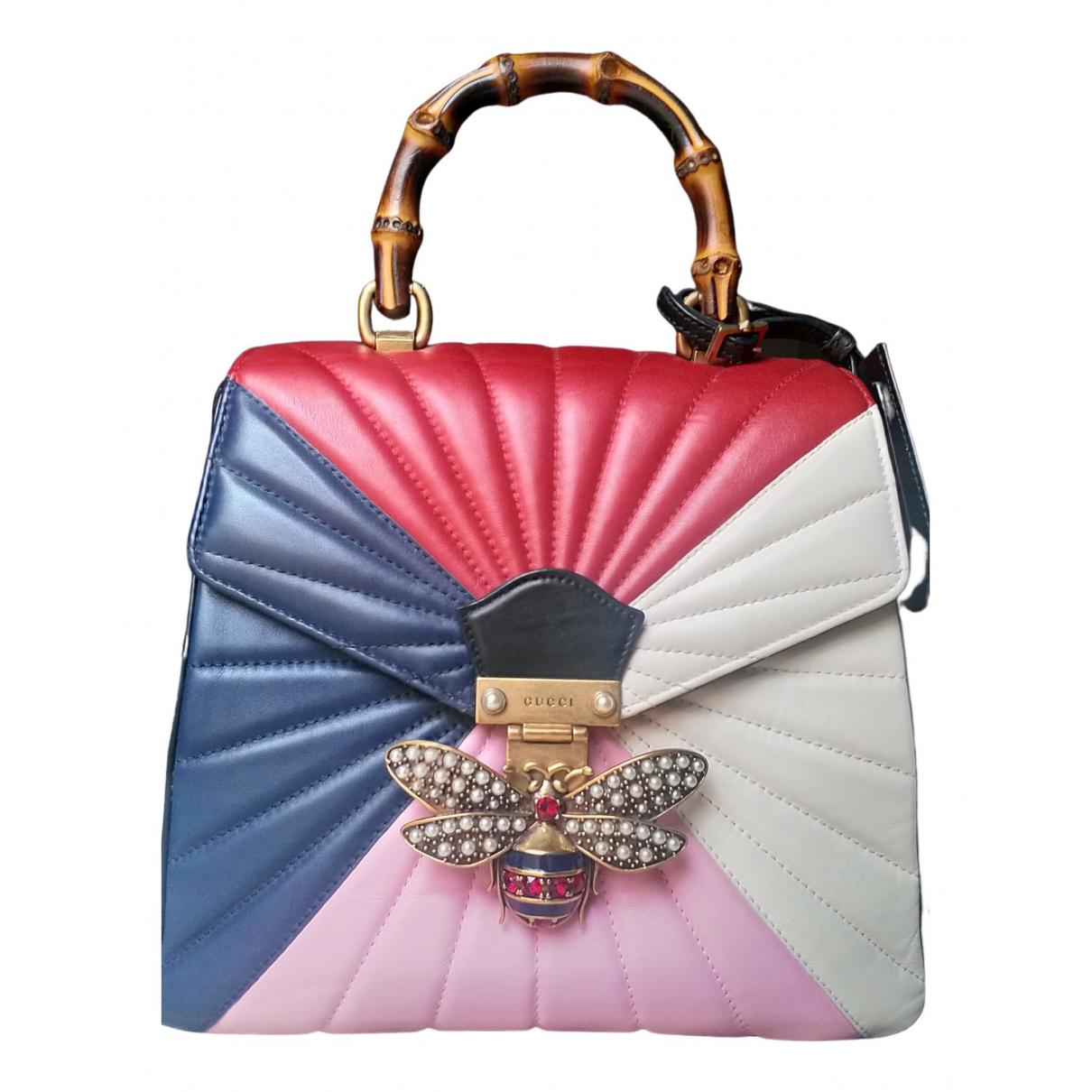 Gucci - Sac a dos Queen Margaret pour femme en cuir - multicolore