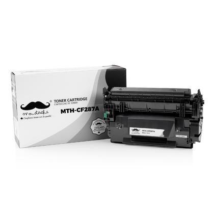 Compatible HP LaserJet Enterprise M527DN Black Toner Cartridge - Moustache