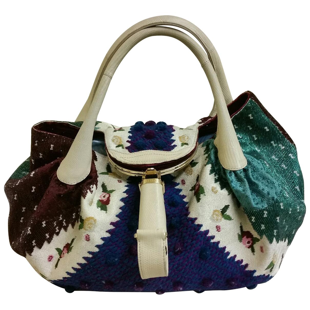 Fendi Spy Multicolour Wool handbag for Women \N