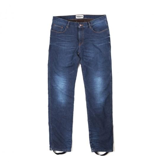 Helstons Corden Jeans Motorista Azul Desgastado 34