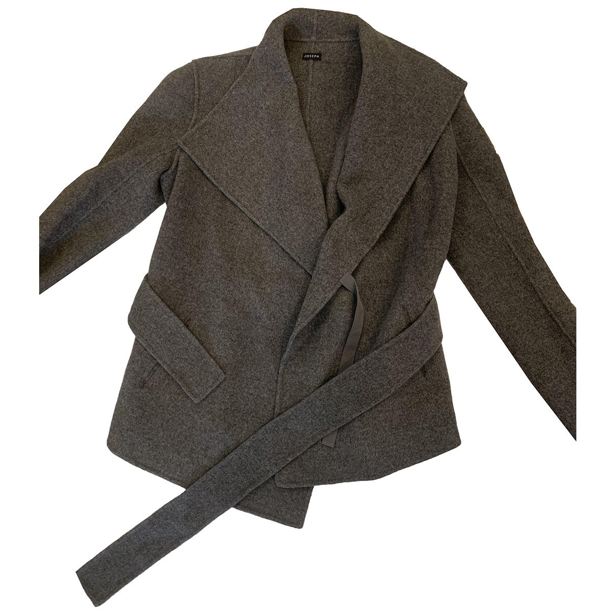 Joseph \N Grey Wool jacket for Women 38 FR