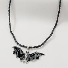 Halskette mit Fledermaus Anhaenger