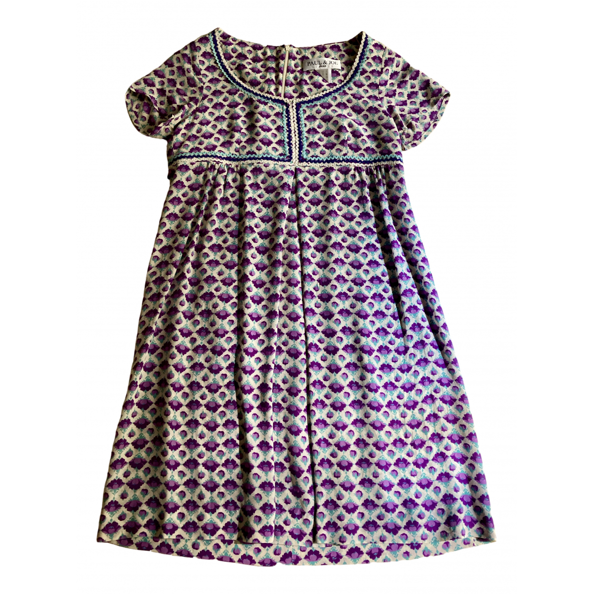 Paul & Joe \N Turquoise Silk dress for Women 40 FR