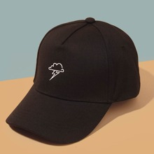 Guys Cloud Embroidered Baseball Cap
