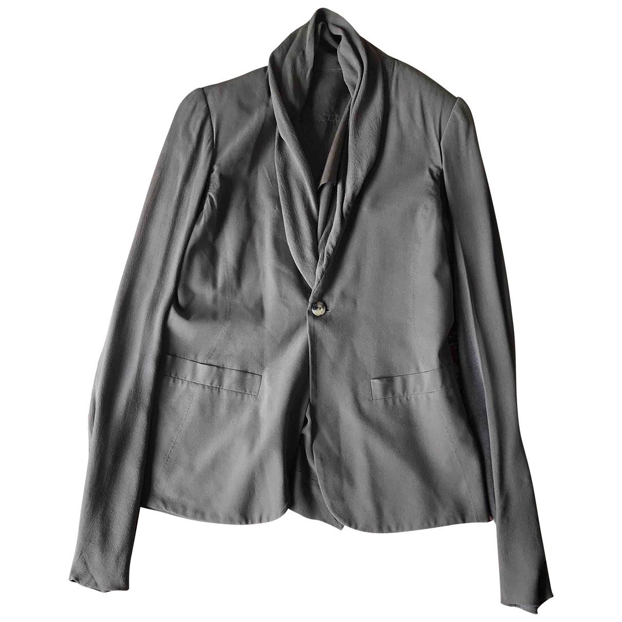 Rick Owens \N Green Silk jacket for Women 40 IT