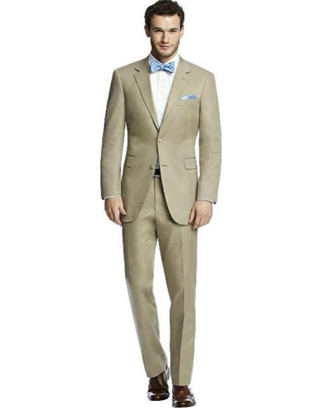 Mens khaki best Suit buy one get one suits free Suit