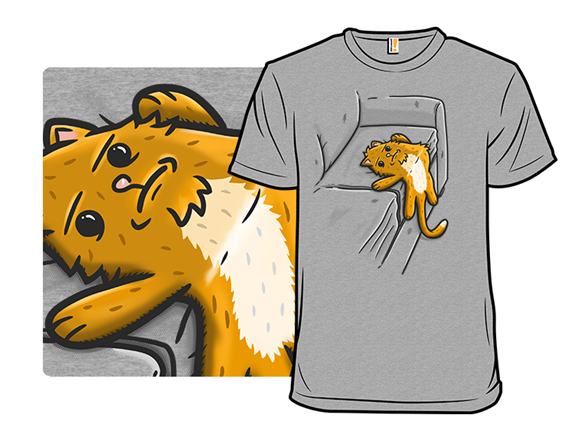 Purrrrsistence Of Laziness T Shirt