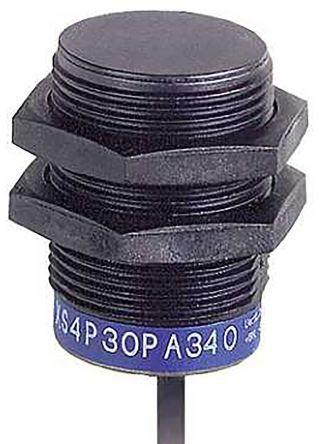 Telemecanique Sensors M30 x 1.5 Inductive Sensor - Barrel, PNP-NO/NC Output, 15 mm Detection, IP68, Cable Terminal
