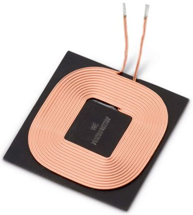 Wurth Elektronik Wurth 8 μH ±10% Ferrite Wireless Charging Receiver Coil, Max SRF:16MHz, Q:30, 5A Idc, 80mΩ Rdc, WE-WPCC