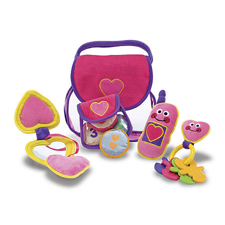 Melissa & Doug Pretty Purse Fill And Spill, One Size , Multiple Colors