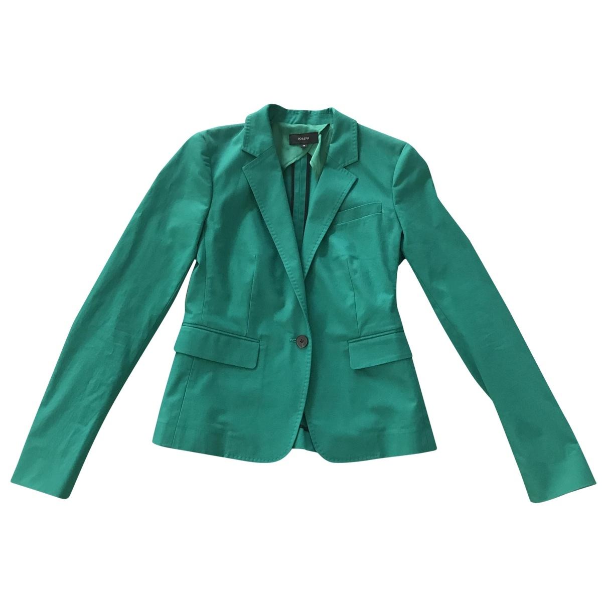Joseph - Veste   pour femme en coton - vert