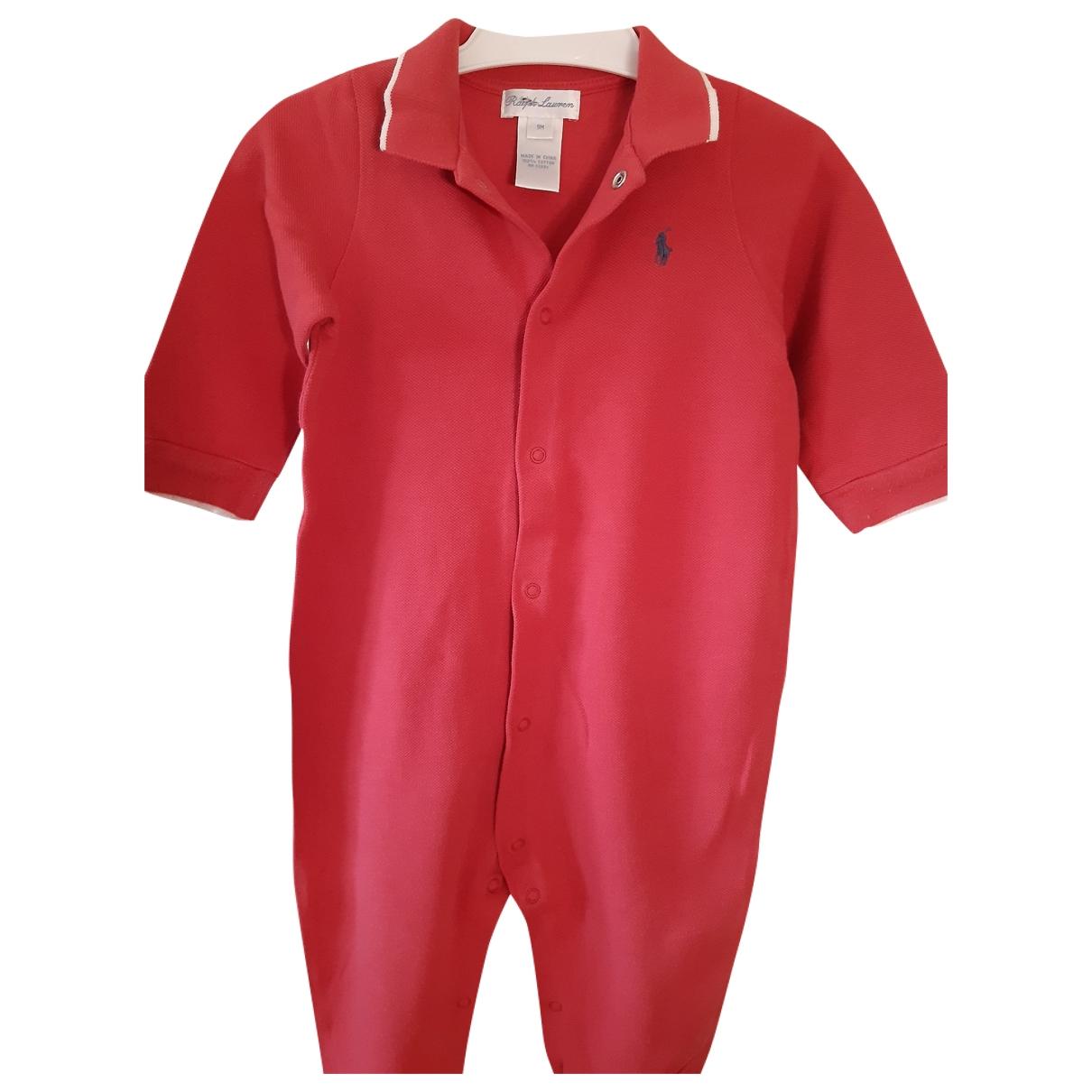 Ralph Lauren - Les ensembles   pour enfant en coton - rouge