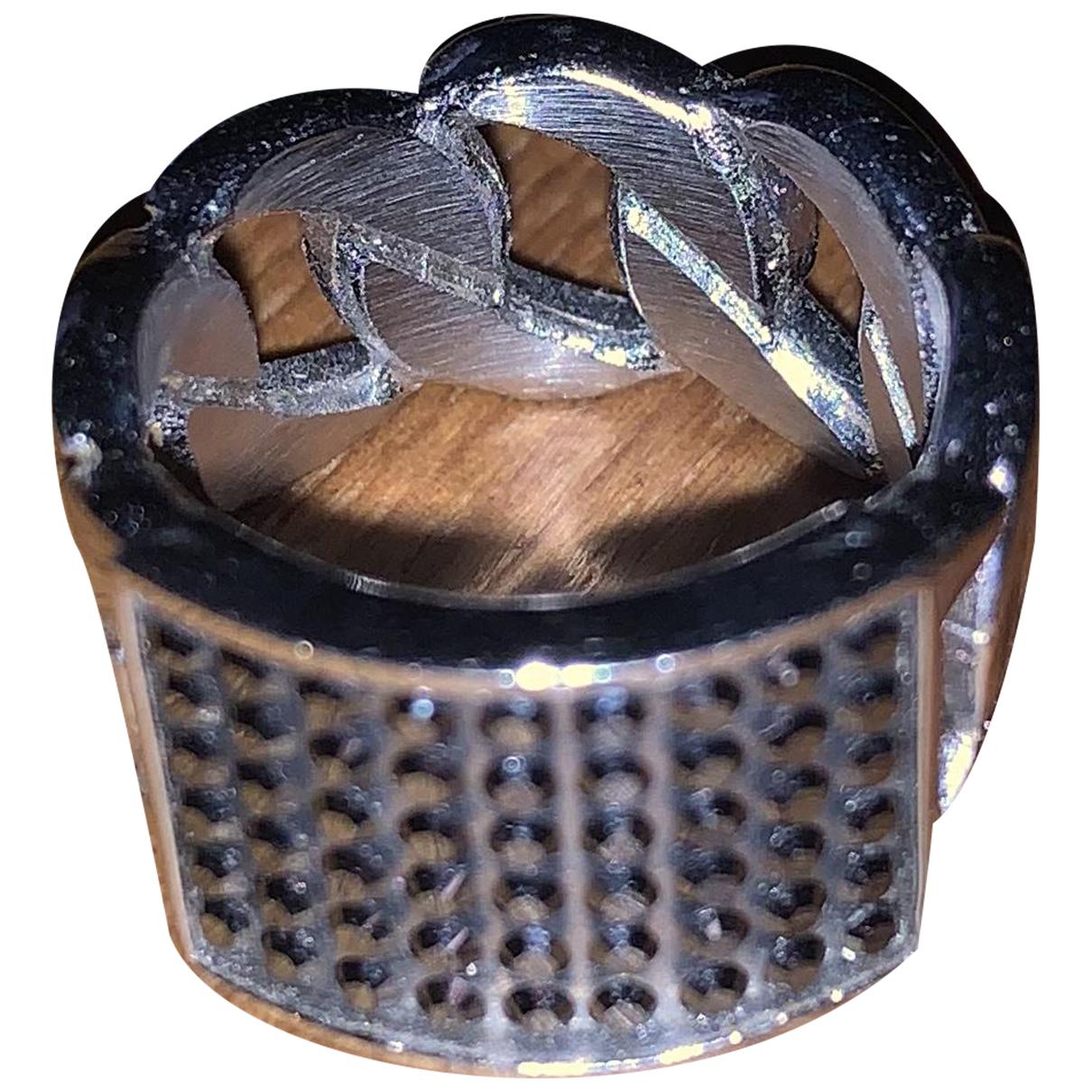 Dyrberg/kern - Bague   pour femme en acier - argente