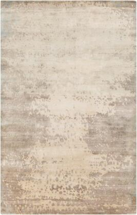 SLI6402-913 9' x 13' Rug  in Cream and Taupe and Medium Gray and Beige and Light