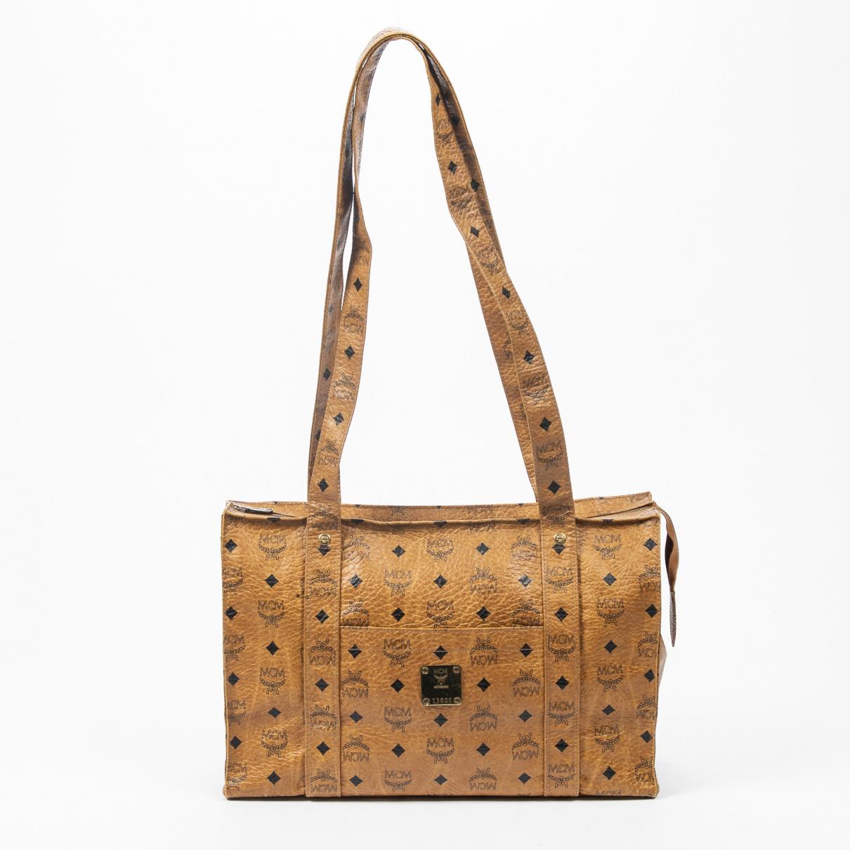 Mcm \N Handtasche in  Braun Baumwolle