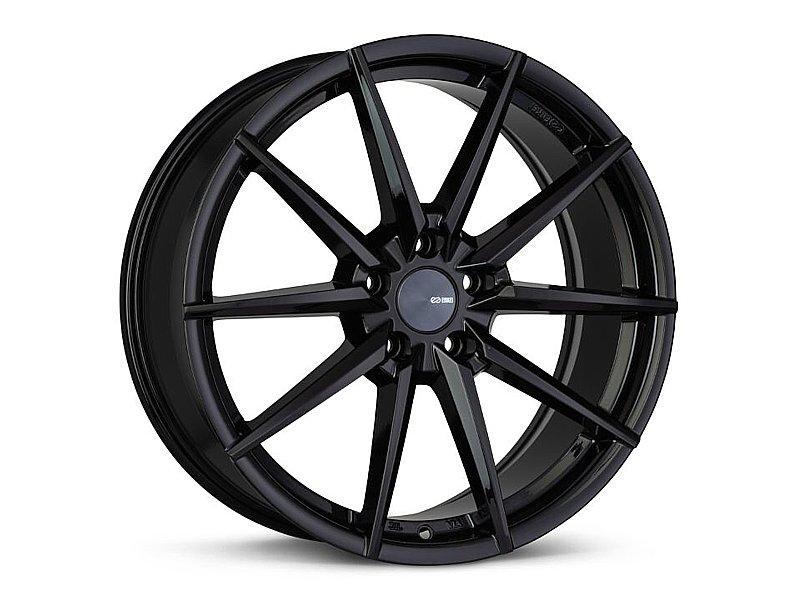Enkei HORNET Wheel 17x7.5 5x100 45mm Black