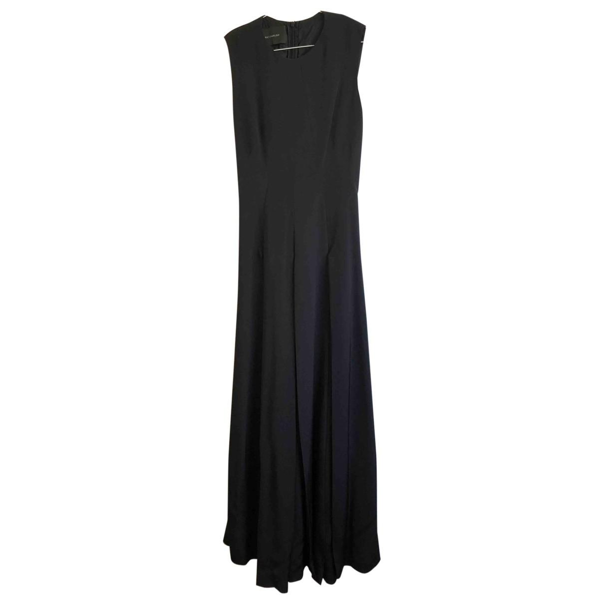 Maxi vestido de Seda Cedric Charlier