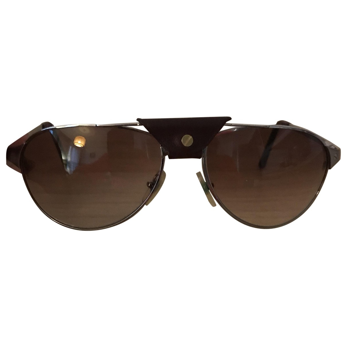 Cartier \N Sonnenbrillen in  Metallic Metall