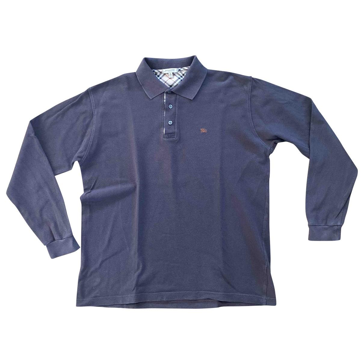 Burberry \N Brown Cotton Polo shirts for Men M International