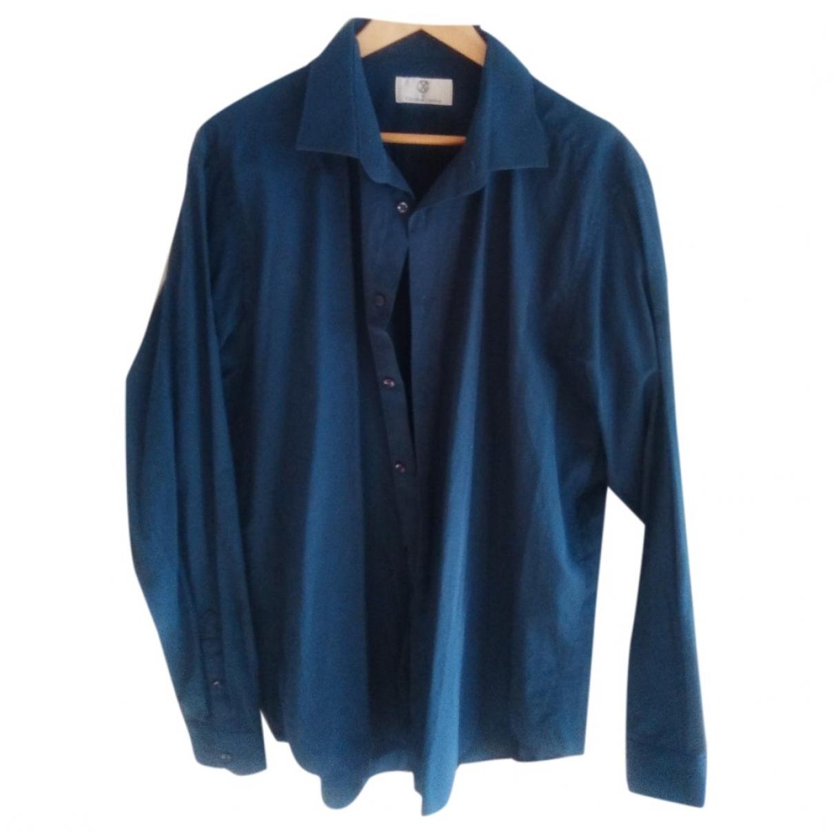 Christian Lacroix \N Hemden in  Tuerkis Baumwolle