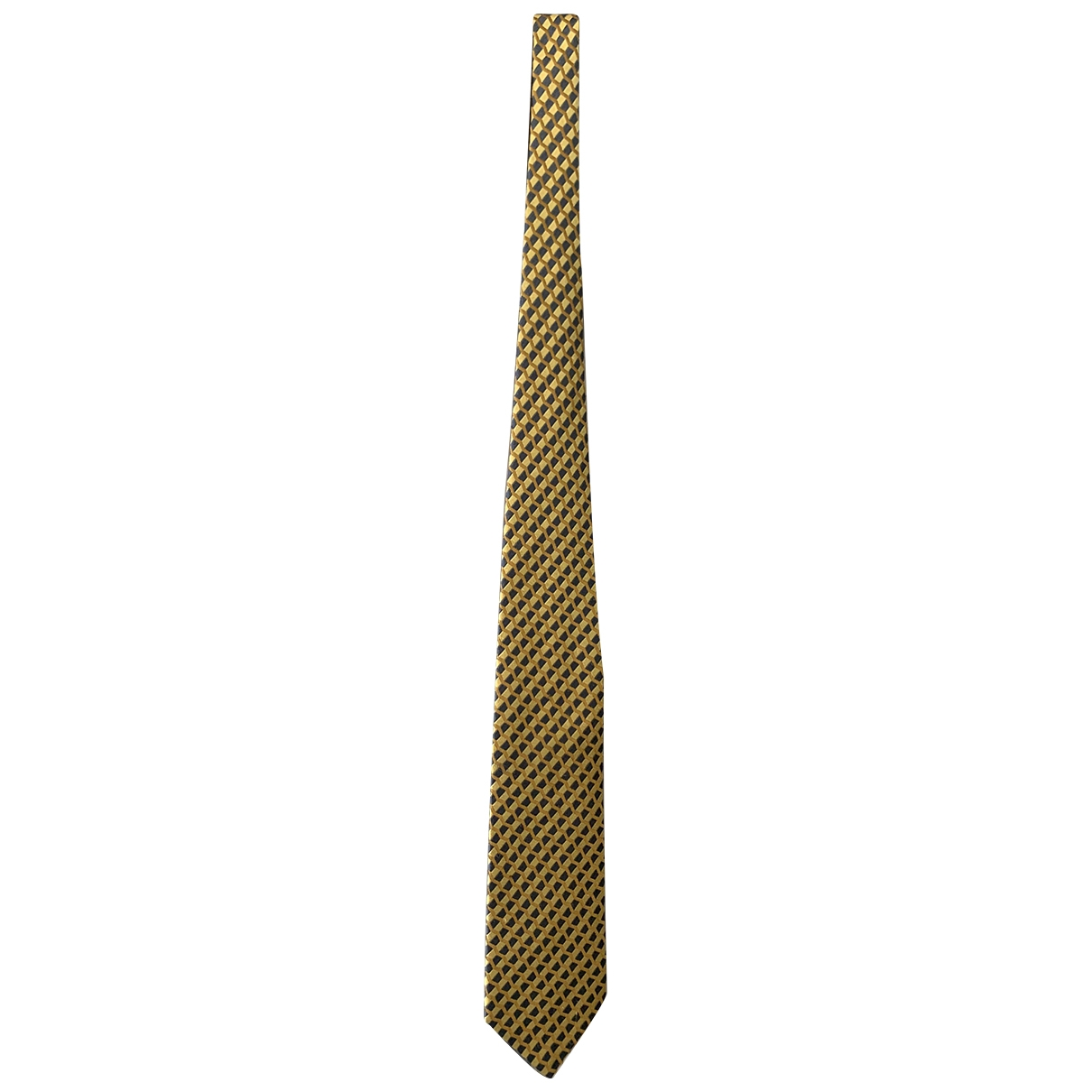 Ermenegildo Zegna \N Yellow Silk Ties for Men \N