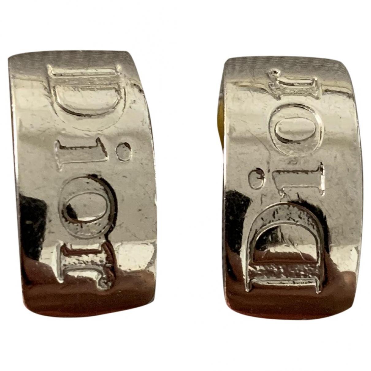 Dior \N OhrRing in  Silber Stahl
