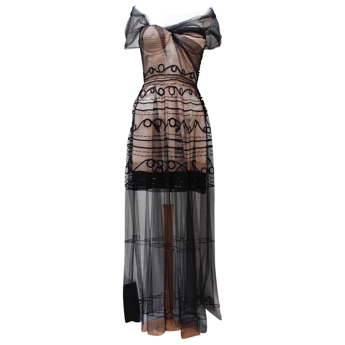 Dior \N Black Silk dress for Women 36 FR